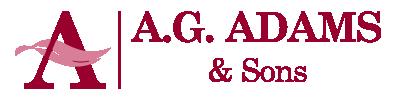 AG Adams Funerals Logo